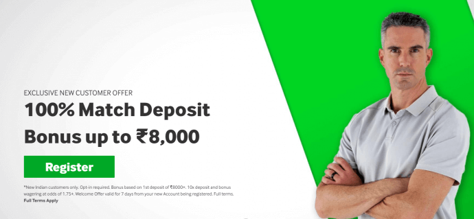 Betway New customer welcome offer