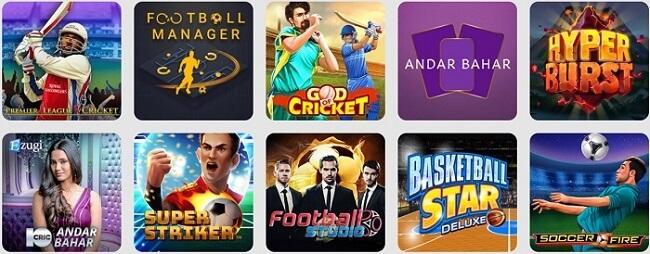 10cric Casino Games
