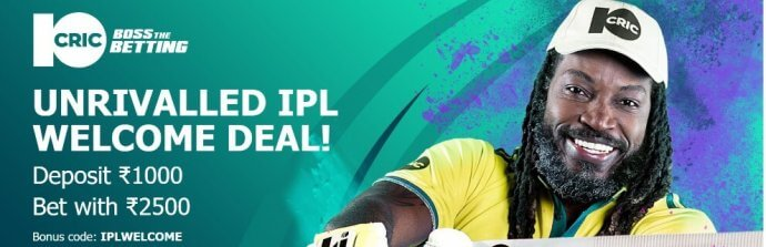 10Cric IPL Cricket Exclusive Offer