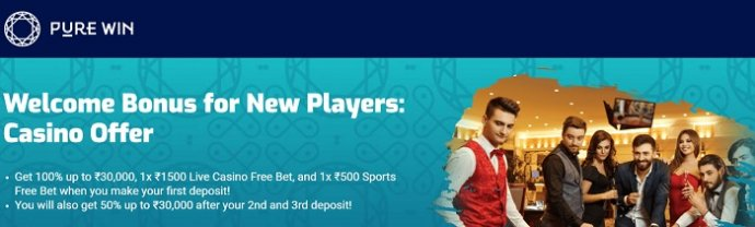 Pure Win Casino Offer