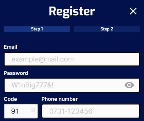 Register-Step by Step