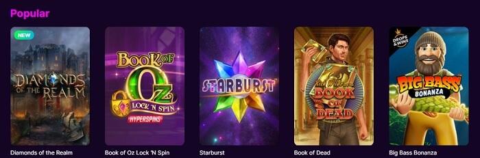 MegaRush Casino Games