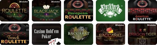 Da Vinci Live Casino