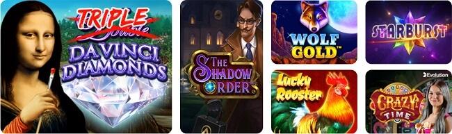 Da Vinci Casino Games