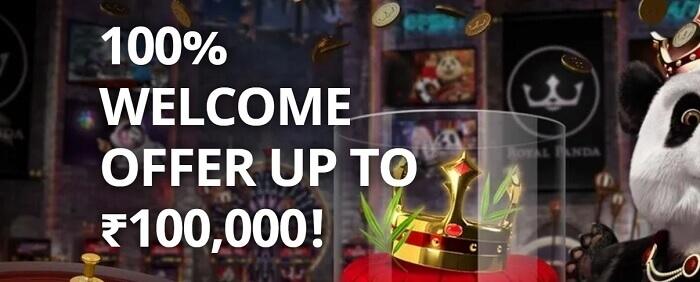 Royal Panda Casino Offer